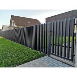 Metalinė šukų tipo tvora