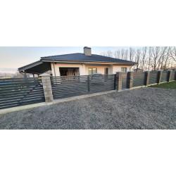 Polisadinė tvora 80x20 PREMIUM