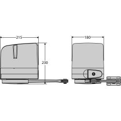 Varstomų vartų automatika BFT VIRGO 24V MINI
