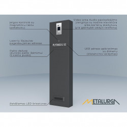 Konsolė H-1300 zn+RAL dažoma milteliniu būdu pasirinkta spalva