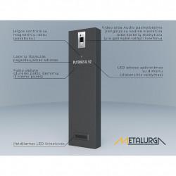 Konsolė H-1600 zn+RAL dažoma milteliniu būdu pasirinkta spalva