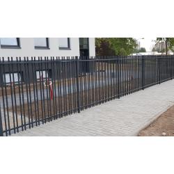Metalinė tvora sutankintu užpildu