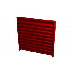 BLTV Žaliuzį tvora skarda 0,65mm tankumas 100% uždara