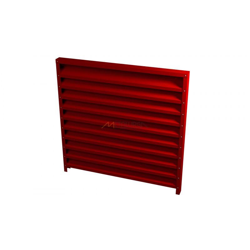 BLTV Žaliuzį tvora skarda 065mm tankumas 100% uždara