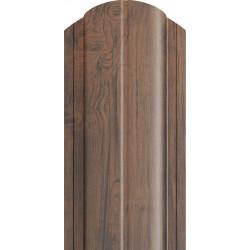 Skardinė tvorlentė Medžio imitacijos tipas (Sigma) nudažyta ir cinkuota 120mm