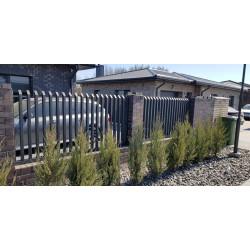 Metalinė šukų tipo tvora EKO cinkuota