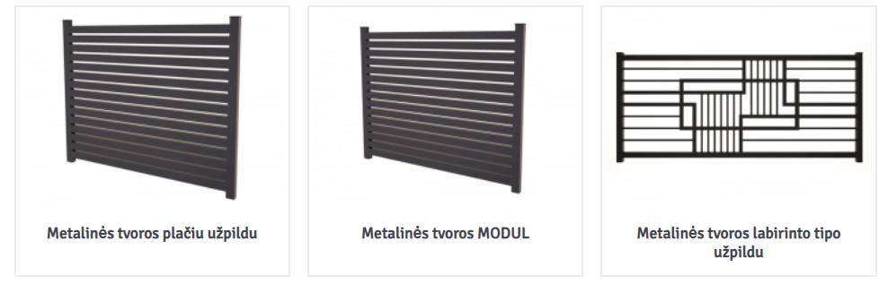 Metalurga.lt metalinės tvoros